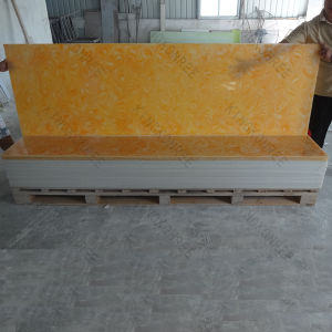 Translucent Resin Acrylic Solid Surface Slabs pictures & photos