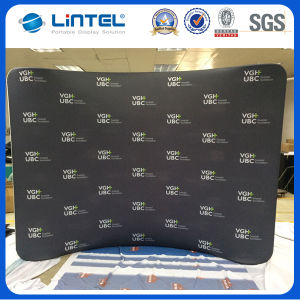 8FT Curved Fabric Display Stand (LT-24) pictures & photos