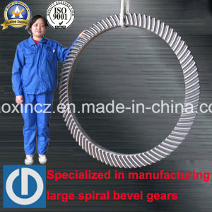 Oil Drilling Large Spiral Bevel Gear pictures & photos