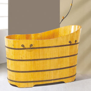 New Design Beauty Salons Dedicated Wooden Medicated Bath Tub (NJ-046) pictures & photos