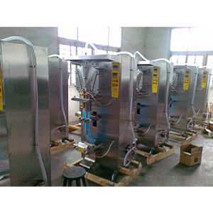 Factory Price Automatic Liquid Sachet Juice Milk Mineral Water Pouch Filling Packing Packaging Machine pictures & photos