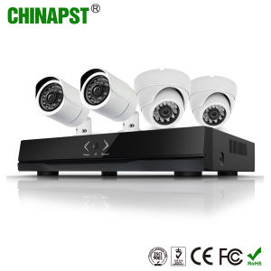 2017 Hottest Indoor&Outdoor HD Camera System 4CH CCTV Ahd DVR Kits (PST-AHDK04B) pictures & photos