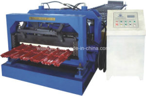 Galvanized Steel Tile Roll Forming Machine with Ce Standard pictures & photos