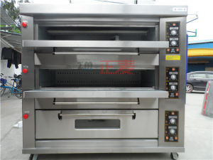 3 Layers and 9 Trays Electric Stainless Steel Door Deck Oven (ZBB-309D) pictures & photos