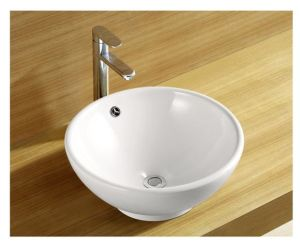 White Ceramic Or Vitreous China Small Size Was Wash Basin