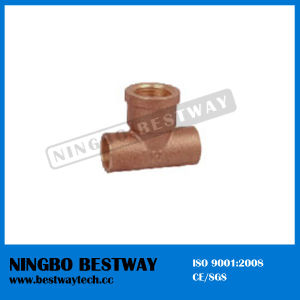 Casting Bronze Pipe Fitting Tee (BW-622) pictures & photos