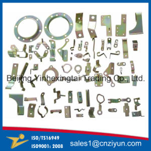 Customized Small Sheet Metal Stamping Components with Yellow Zinc pictures & photos