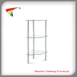 Popular Glass Corner Table (C16) pictures & photos