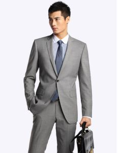 Business Slim Fit Men Suit (Suit130026) pictures & photos