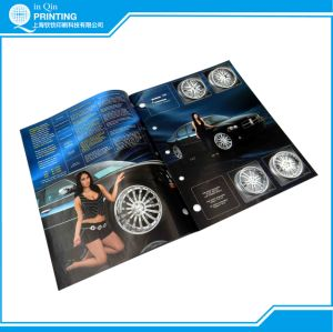 Staple Full Color Low Cost Brochure Printing pictures & photos