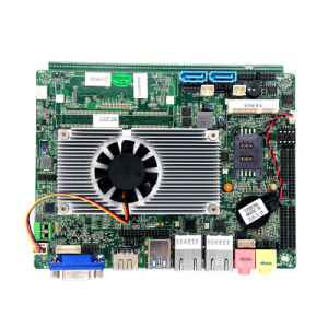 Thin Client 12V Dual LAN 3.5inch J1900 Industrial Mainboard for Industrial Computer pictures & photos