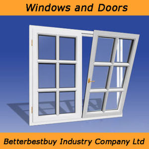 Good Price UPVC Window with High Quality pictures & photos