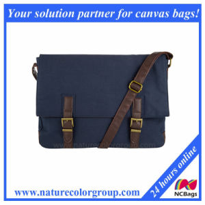Spacious and Lightweight Dyed Canvas Messenger Bag for Men pictures & photos