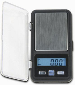 New Digital Pocket Scale with Blue Back-Light LCD pictures & photos