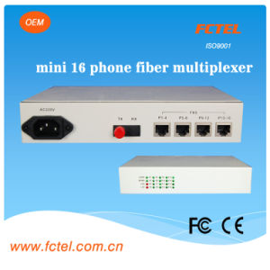Mini Type 1~16 Channel Telephone Multiplexer