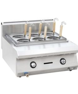 Countertop Commercial Stainless Steel Gas Pasta Cooker pictures & photos