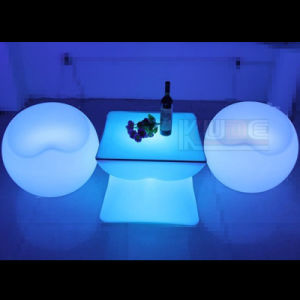 LED Light Bar Table with Light Unique Bar Tables pictures & photos