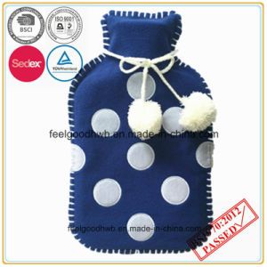 Hot Water Bottle with Fleece Cover pictures & photos