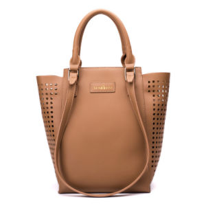 China Designer Hollow out PU Leather Lady Bags Handbags - China Lady ... 93557ccf2fda6