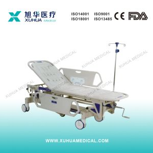 Hydraulic Hospital Patient Trolley, Transfer Stretcher (Type II) pictures & photos