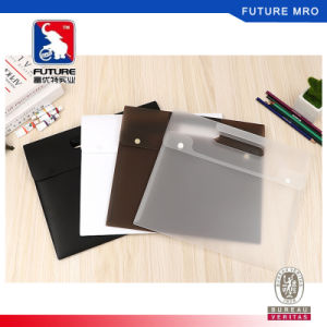 Filing Products New Simple Leaves Transparent Pvc File Folder Document Filing Bag Cosmetic Stationery Bag Promotional Gift Stationery