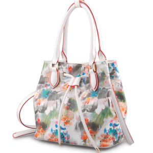 China Designer Printing Flower Leather Women Luxury Handbag (LY05040) - China  Italian Design Genuine Leather Handbag 85c4197aedc57