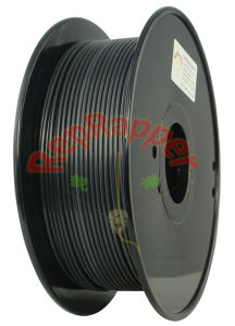 Well Coiled Nylon 3.0mm Black 3D Printing Filament