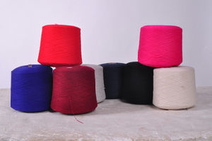 Good Quality 21s Dyed Polyester Staple Spun Yarn