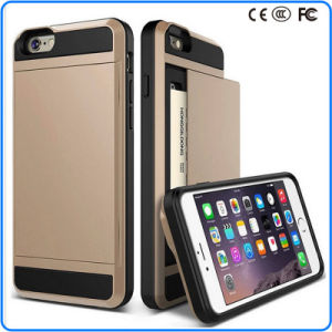 New Style Korea Armor Hybrid Vernus Case for iPhone 6/6s with Card Slot Holder