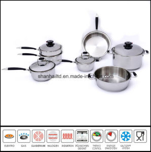 T304 Surgical Stainless Steel Cookware Set