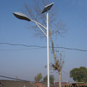 High Power Waterproof Solar LED Street Light with Pole 2015 New Design pictures & photos