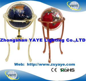 Yaye Dark Blue 330mm Gemstone Globe with Floor Type / CE & RoHS pictures & photos