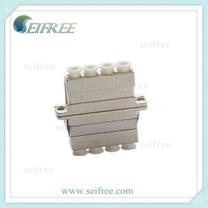 Quad Core Metal Fiber Optic Cable Adapter pictures & photos