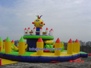 Amusement Inflatable Castle Made of 18 Oz PVC Tarpaulin (A221)