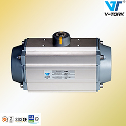 Single Acting Return Pneumatic Valve Actuator