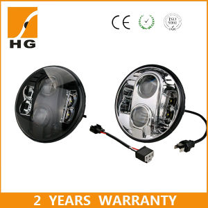 7inch LED Headlight Hi/Low Emark LED Headlight for Jeep/Rover