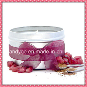 Personalized Scented Soy Wax Candle in Tin