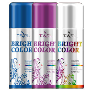 Tazol Temporary Hair Color Spray Colorful Hair Dye pictures & photos