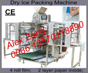 Hot Sale Dry Ice Sachet Filling Machine pictures & photos