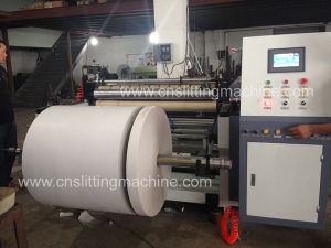Single Rewind Paper Slitter Machine, Paper Slitter Rewinder Machine pictures & photos