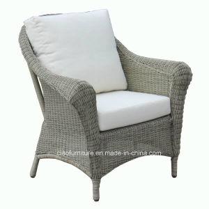 Astonishing H Outdoor Round Wicker Chair With 5Cm Cushion Frankydiablos Diy Chair Ideas Frankydiabloscom