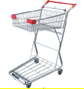 Supermarket Use Metal Folding Cargo Trolley (JT-E20) pictures & photos