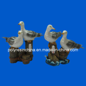 Polyresin Seagull in Stone Effection pictures & photos