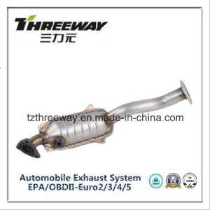 Three Way Catalytic Converter Direct Fit for Honda Fit pictures & photos
