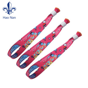Customized Festival Fabric Woven Wristbands for Events pictures & photos