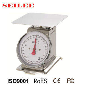 2kg-5kg Stainless Steel Mechanical Kitchen Weighing Scale pictures & photos