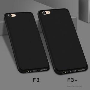 Cross Pattern Ultra Slim Soft TPU Case for Oppo F3 Plus
