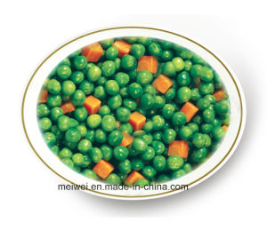 Vegetable Canned Mix Vegetables (Green Pea+Carrot) pictures & photos