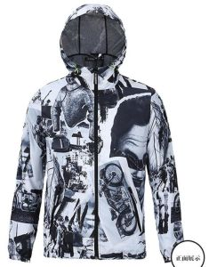 Custom/Customized Winter Windbreaker Sublimation/Sublimated  Printing/Printed Ladies/Women′s Down Clothes