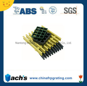 Fiberglass Reinforced Plastic Gratings / FRP GRP Grating, High Strength